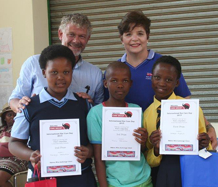 Winners of Poetry presentation Competition