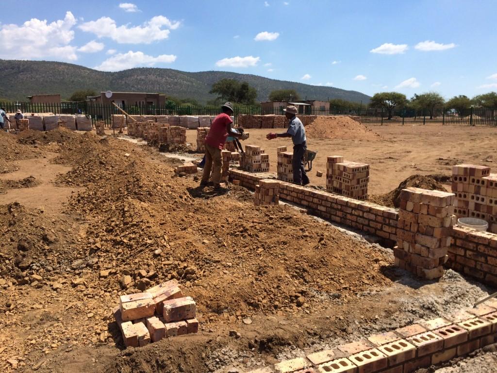 Baubeginn Mini Campus 1