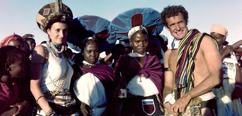 """Johnny Clegg, der """"weiße Zulu"""""""