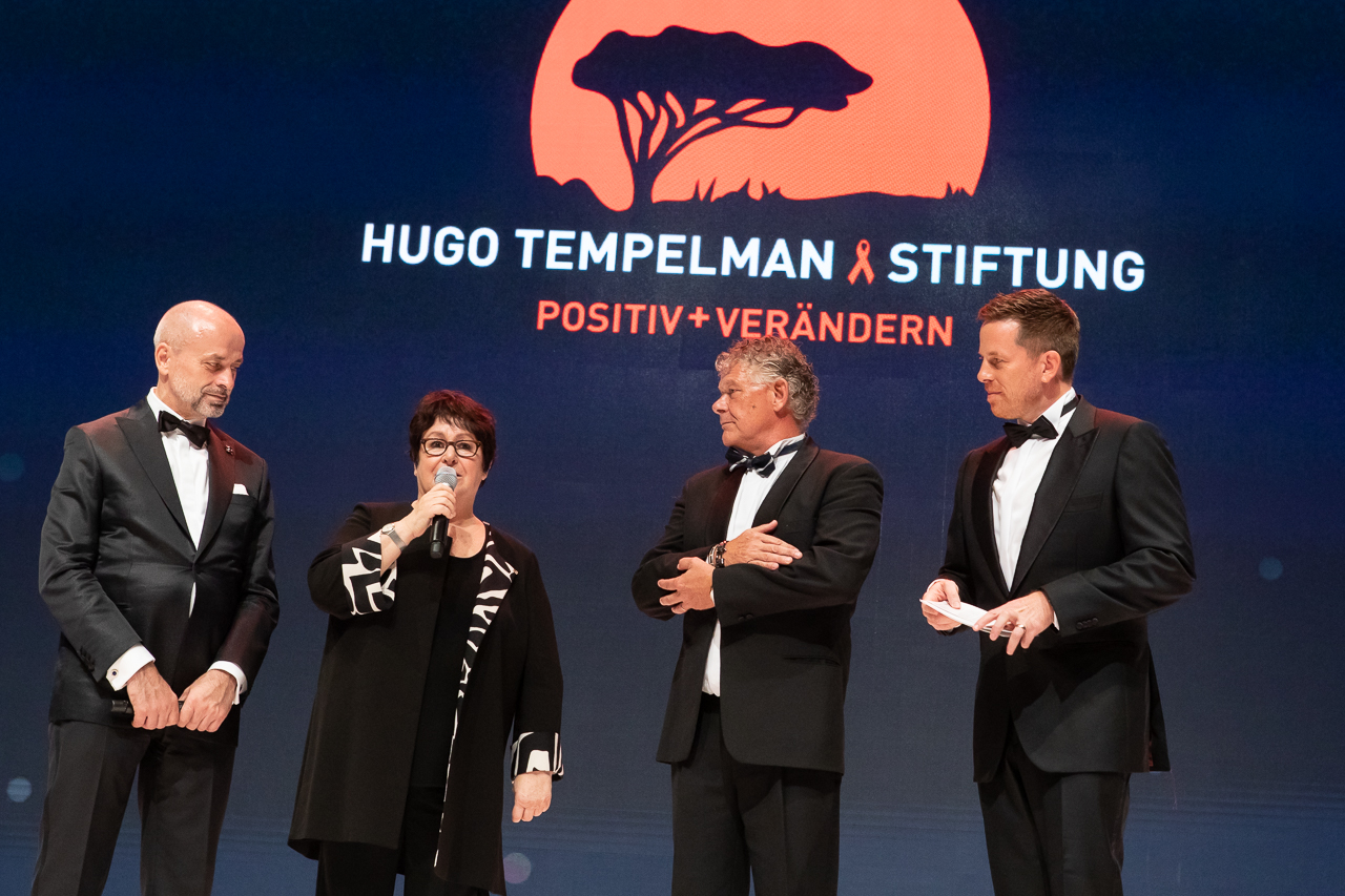 Auf der ENERGETIX-Bühne mit Roland Förster, Vivi Eickelberg und Hugo Tempelman